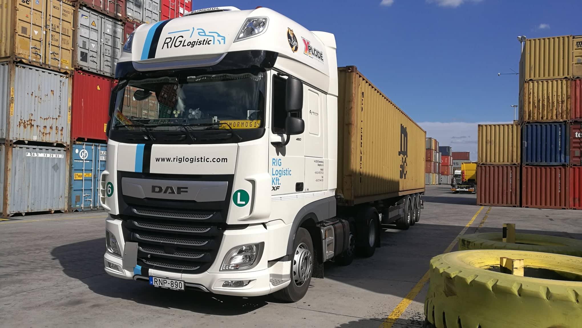 Rig logistic - adr szállítányozás