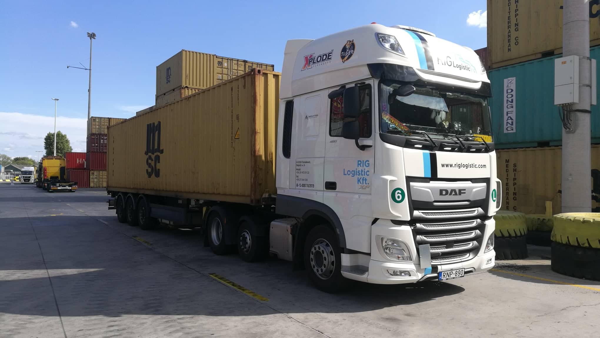 Rig logistic - veszélyes áru szállítás